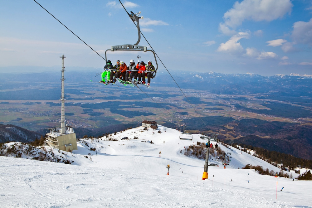 אתר סקי קרבבץ בסלובניה