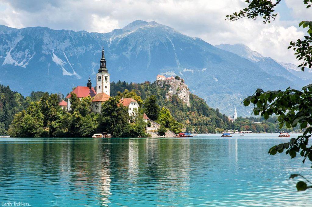 אחד האגמים היפים בעולם - אגם בלד (Bled)